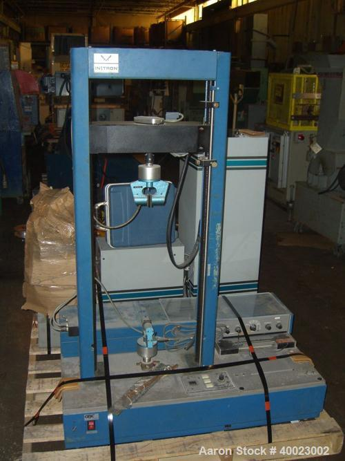 Used- Instron Corp Tensile Tester, Model 1130. Serial #412. 115 volt/ 15 amp.