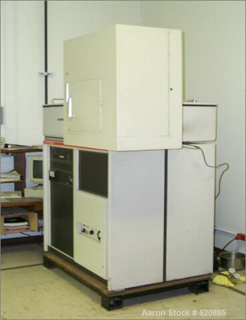 USED: Jarrel Ash Div of Fisher Scientific Atom Comp 7000 direct reading spectrometer with vacuum pump, computer readout and ...