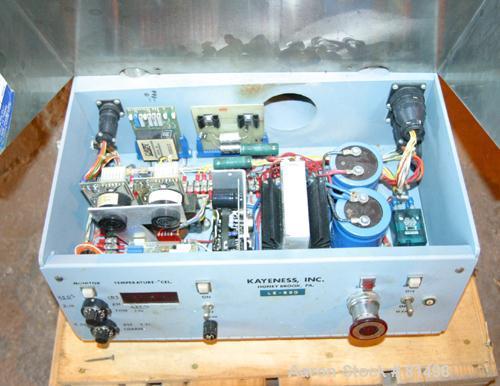USED- Kayeness Capillary Rheometer, Model LS8-402-2-0-A-2T-T-1-A. Rated 2 ton capacity. Includes digital display controls. U...