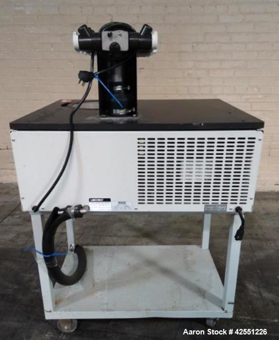 Used- Labconco Freeze Dryer, Cat# 77520-00J. 20 Heads, 115 volt. Mounted on stand. Serial# 267939.