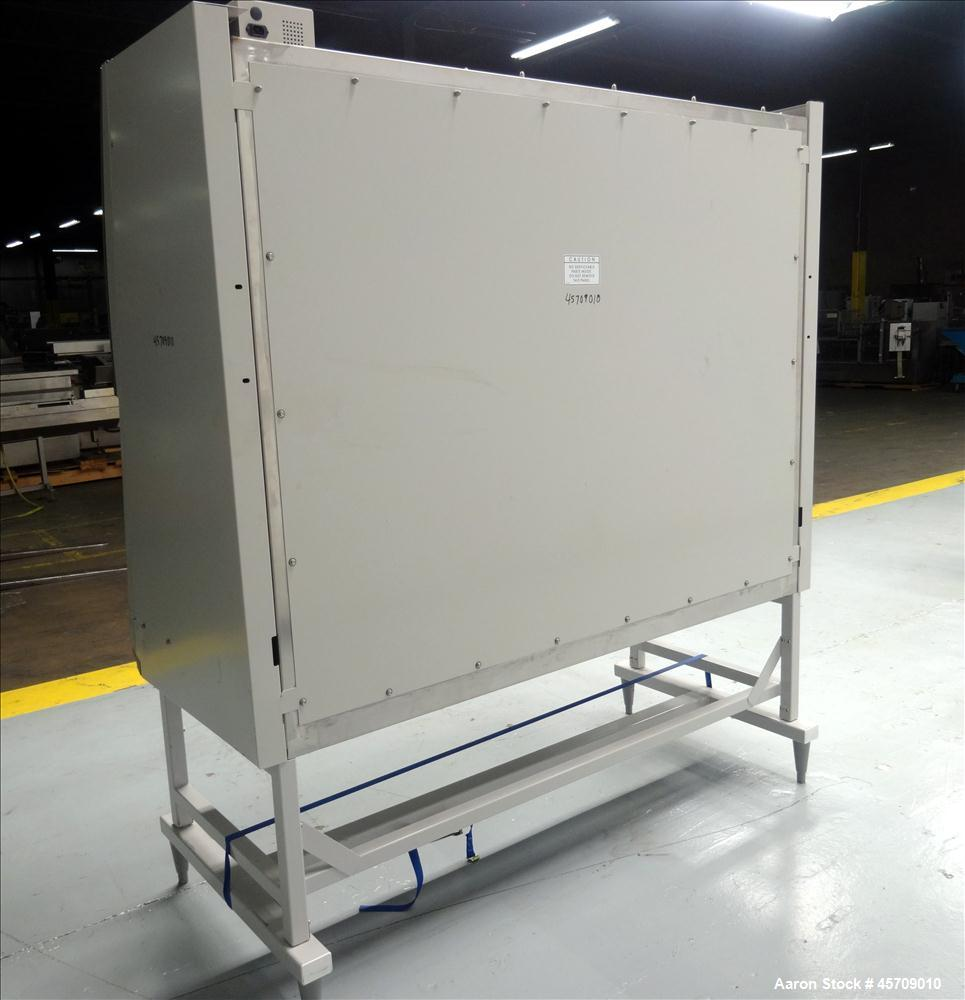"""Used- Labconco Purifier Logic Class II, Type B2 Total Exhaust Biological Safety Cabinet, Catalog# 3461000. Approximate 73"""" w..."""