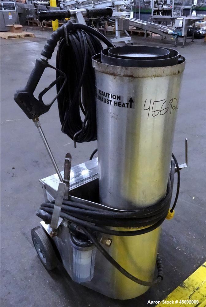 Used-Sanitech Wet Steam Cleaner/Sanitizer, Model Mark IV, Serial Number 9779.  Steam pressure 104 bar @ 1500 psi.  Water vol...