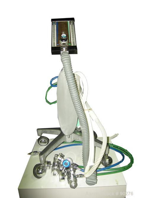 USED: MDM nitrous oxide system with cart and hose assembly.