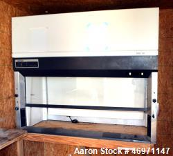 "Used- Labconco Protector Laboratory Hood. Approximate 62"" wide with front glass door."