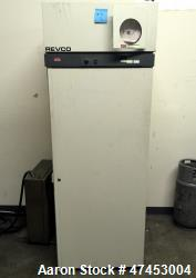 Revco Scientific Refrigerator, Model REL2304D1. Approximate 23.3 cubic feet chamber, approximate 55...