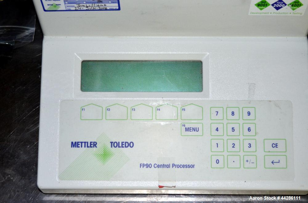 Used- Mettler Toledo FP83HT Dropping Point Cell. Determines dropping and softening points fully automatically. A wide applic...