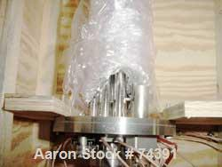 Used- Gas Chromatogram Column, 304 Stainless Steel. Approximate temperature range -60 to 325 Degrees F, approximately 1.5 Ml...