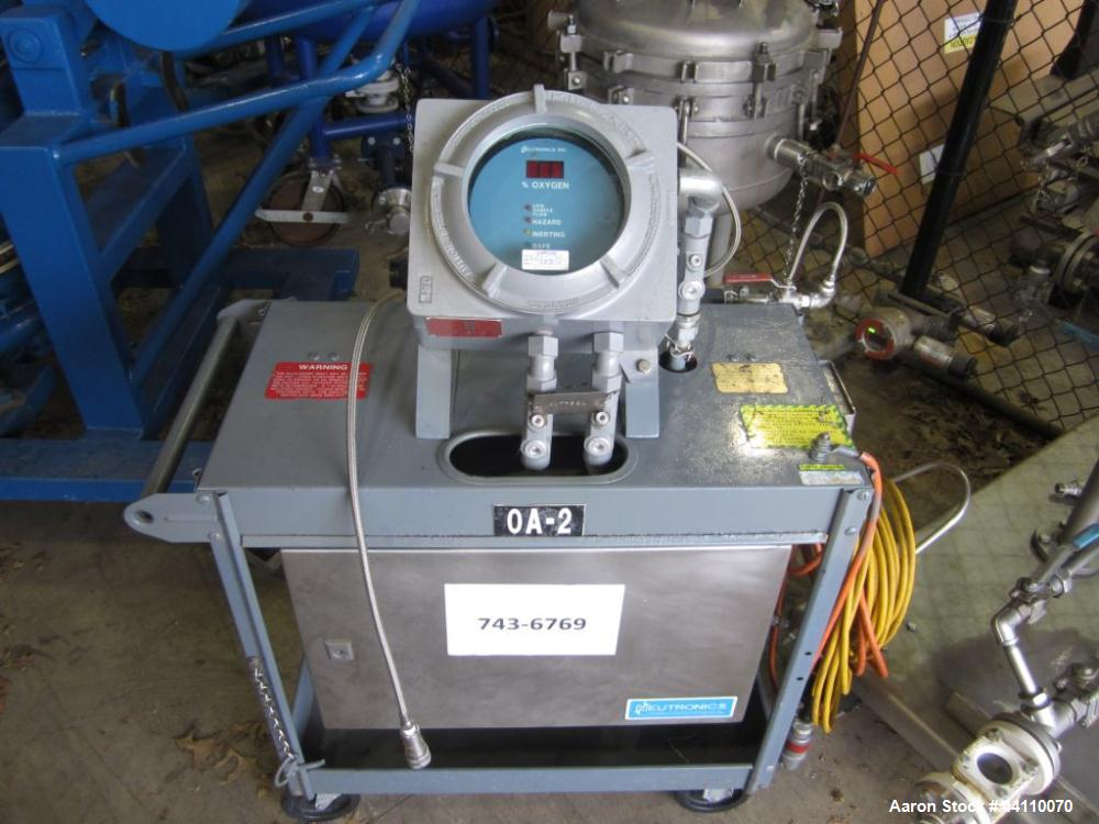 Used- Neutronics Company Inerting Control System (ICS) Cart System and Oxygen Analyzer System, Explosion Proof