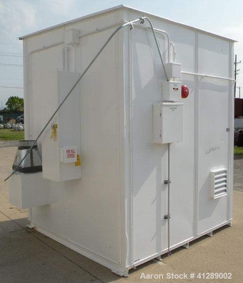 Used- Safety Storage Inc Safety Storage Building, Model 0808-4FRE-C. Internal 73'' wide x 73'' deep x approximately 84'' tal...