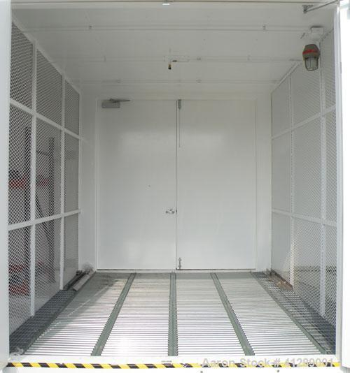 Used- Safety Storage Inc Safety Storage Building, Model 5614-4FRO-C. Internal 649'' wide x 144'' deep x approximately 123'' ...