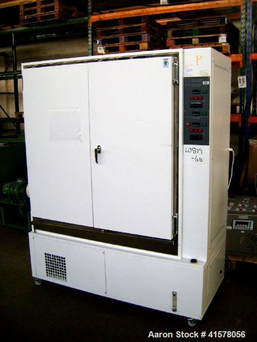 Used- Vindon Scientific Stability Storage Cabinet, Model 5799-S. Chamber 1200mm wide x 1180mm high x 590mm deep. Volume 835 ...