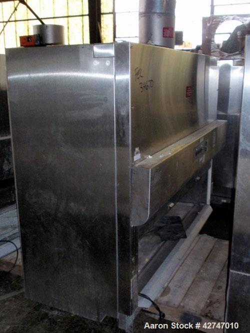 "Used- NuAire Bio Hood, SP Series, Model NU 430 SPEC, Stainless Steel. Class II, Type B2, approximately 70"" wide x 24"" high x..."