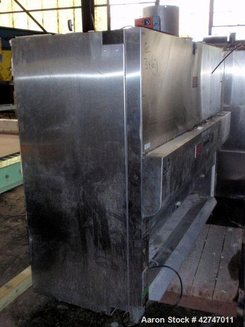 """Used- NuAire Bio Hood, SP Series, Model NU 430 SPEC, Stainless Steel. Class II, Type B2, approximately 70"""" wide x 24"""" high x..."""