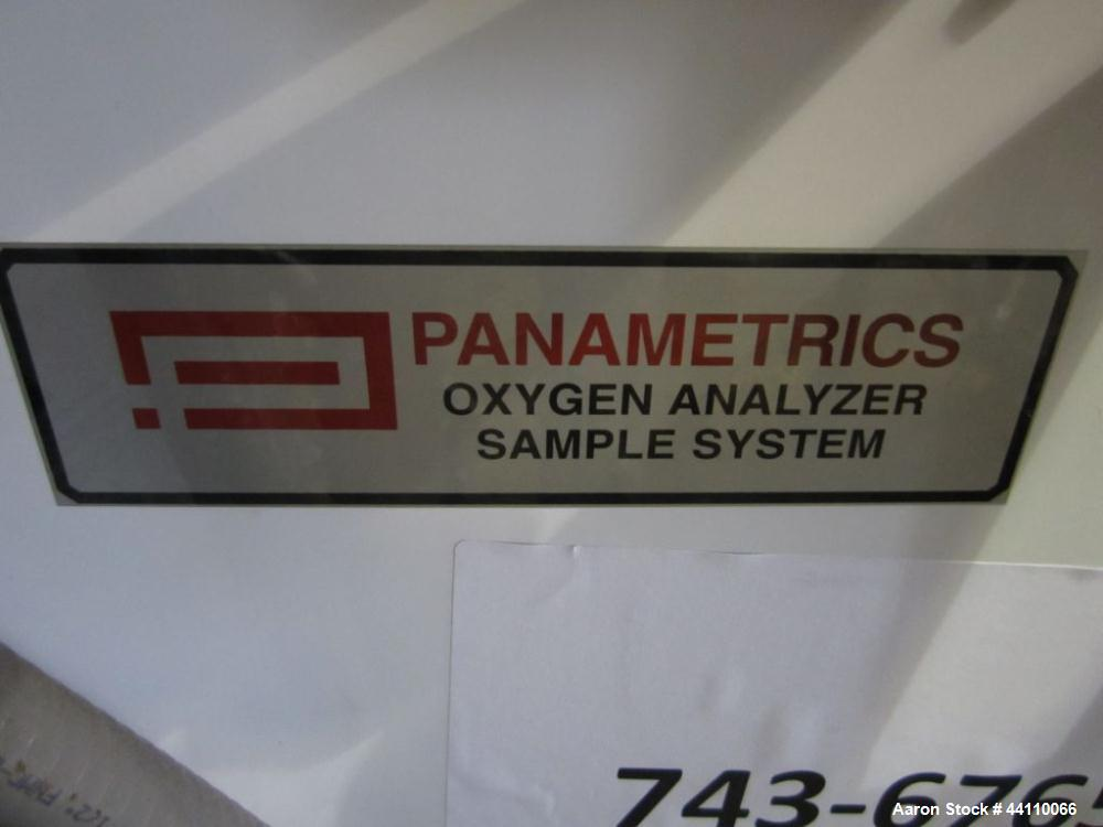 Used- Panometrics Oxygen Analyzer Sample System
