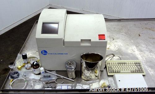 Used- Parr 6100 Oxygen Bomb Calorimeter. The Parr 6100 Compensated Jacket Calorimeter continuously monitors the temperature ...
