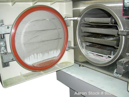 "USED: Pelton and Crane validator plus autoclave/sterilizer, model AC.8"" Diameter chamber x approximate 15"" deep.  50/60 hz, ..."