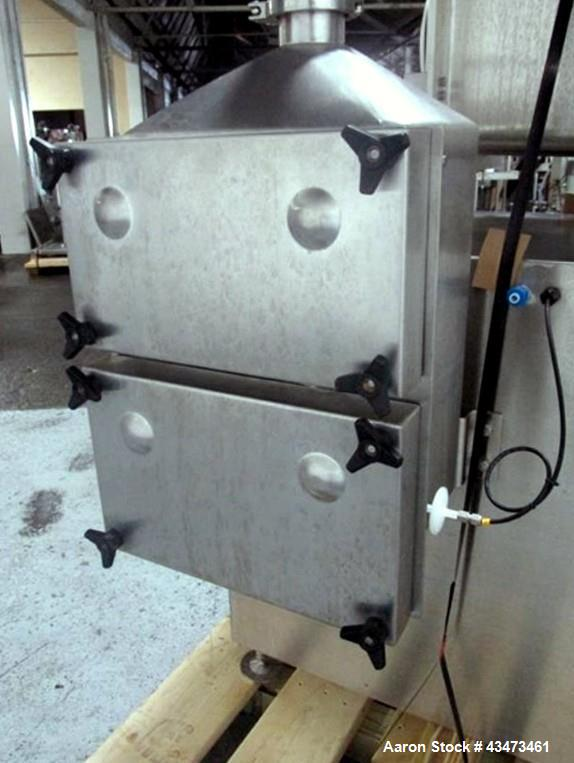 Used- PSL Powder Systems Limited Dispensecell With Sampling Isolator. Stainless steel construction, single sided, approximat...