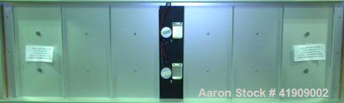 Used- QUV Accelerated Weathering Tester, Model QUV/CW. Temperature range 35 to 80 deg.c.. Cool white fluorescent UV exposure...