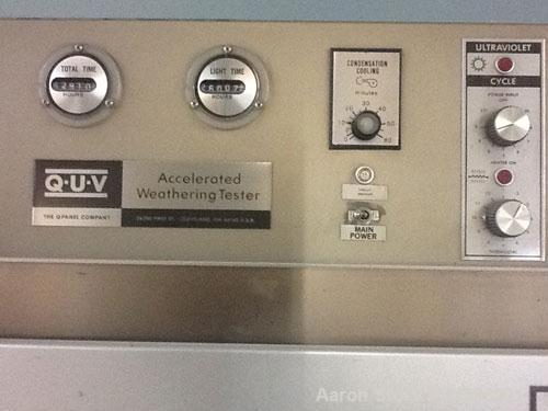Used-QUV Weathering Testing System, Model QUV Basic.  120 Volts, 60 hz, 1500 watts.