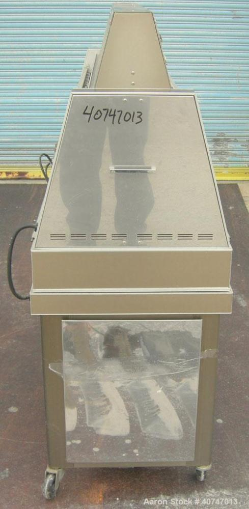 Used- QUV Accelerated Weather Tester, Model QUV.  Approximate UV exposure temperature range 122 to 176 degrees F.  Approxima...