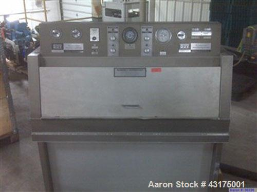 Used-QUV Accelerated Weathering Tester, Model QUV.1200W, 120V, 60 hz, 1117 hours. Manufactured 1985