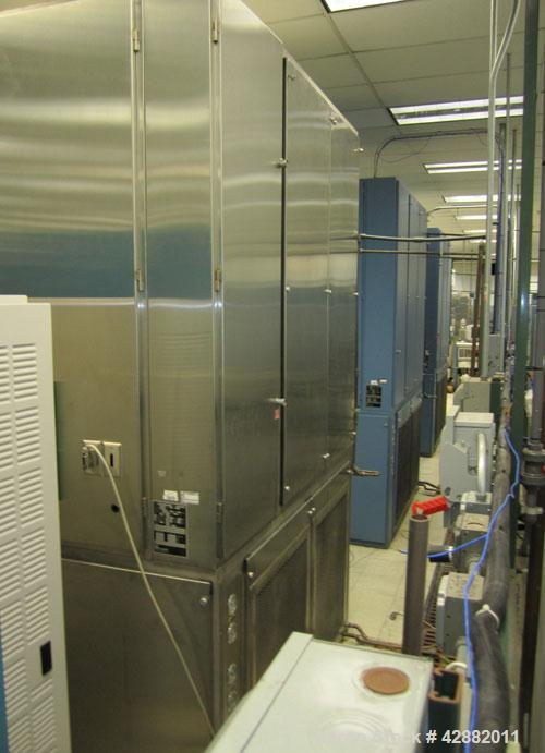 Used-Russells Technical Products Environmental  (Temperature/ Humidity) Chamber, Model RD32-5-5, self- contained. Heat rejec...