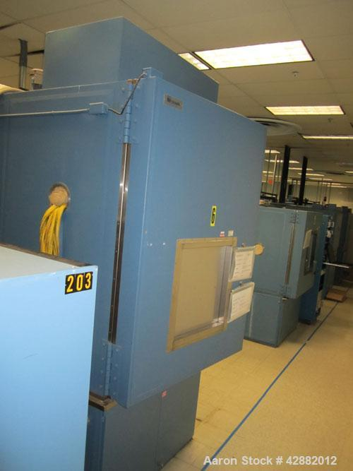 Used-Russells Technical Products Environmental  (Temperature/ Humidity) Chamber, Model RD48-25-25,  A/C. Heat rejected kW = ...