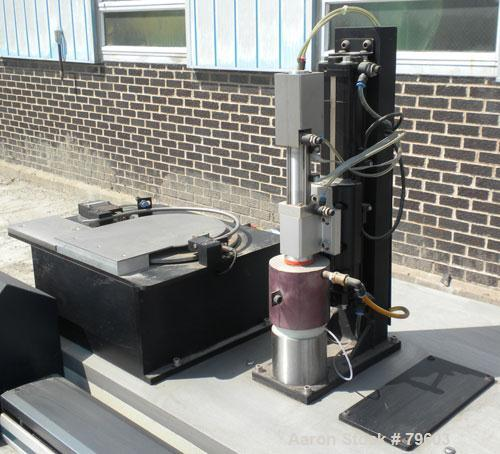 USED- Rheometric Scientific Automated Melts Analyzer Model RAMA. 15 AMP, 50/60 Cycle, 200/240 Volt. Can accommodate up to 18...