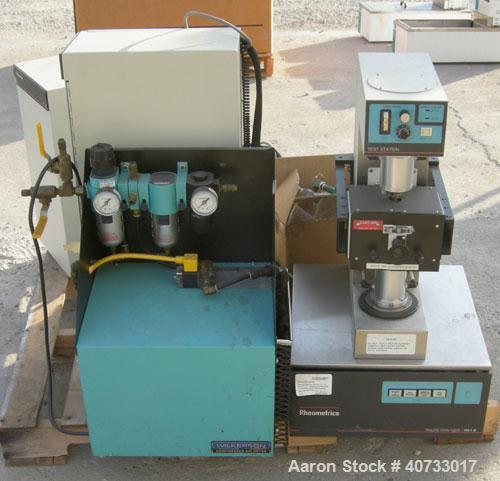 Used-Rheometrics model RSA-2, solid material mechanical analyzer system.  15 amp, 220 volt.  Actuator max force of 1000 G.  ...