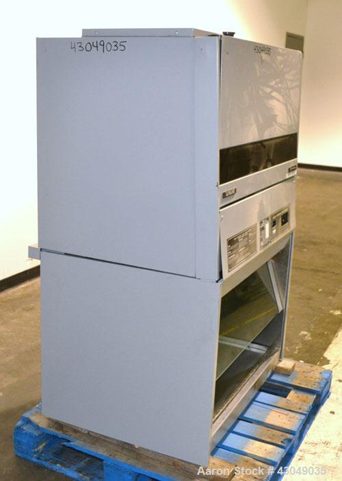 """Used- Safeaire Biological Safety Cabinet, Model 54L922. Class II, Type A, or Type A/B3. 36"""" Wide. Built 2002."""