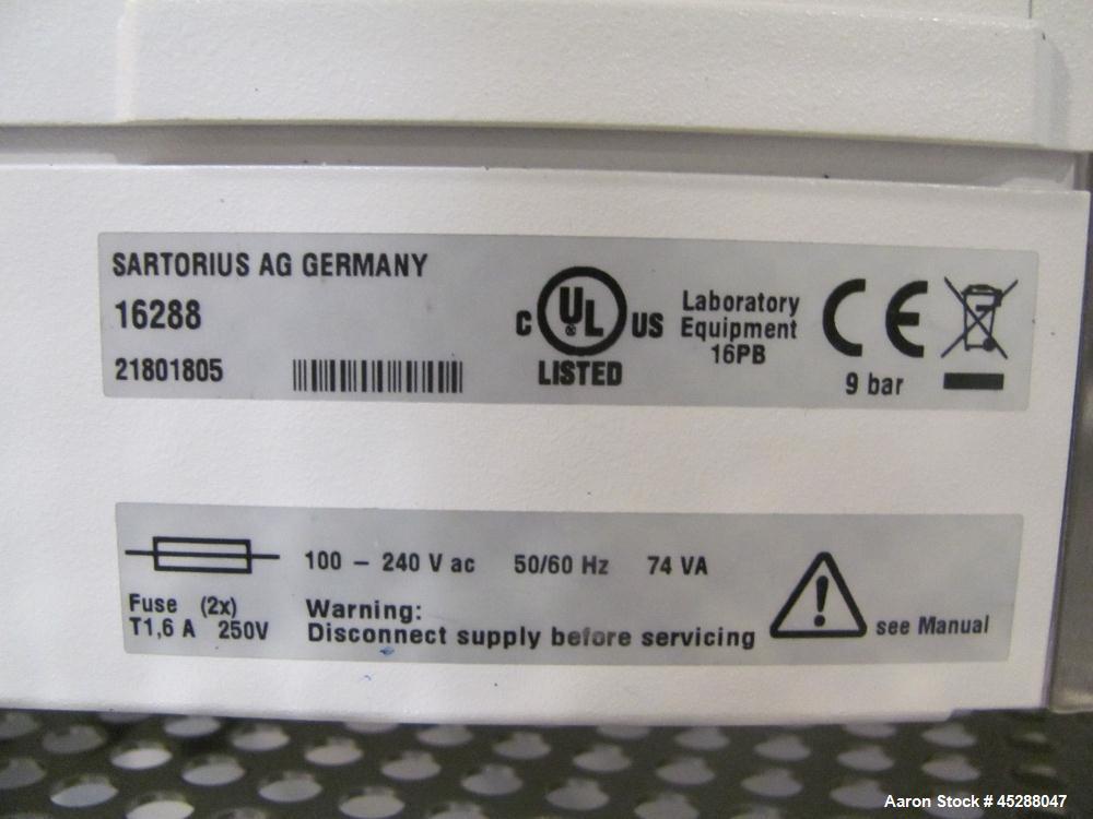 Used-Automatic Filter Integrity Tester Sartorius/Stedim Biotech 26288 Sartocheck