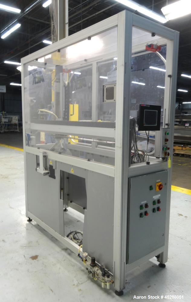 Used- Liquid Handling Station Cabinet to include SMC, Parker, & Allen Bradley Co