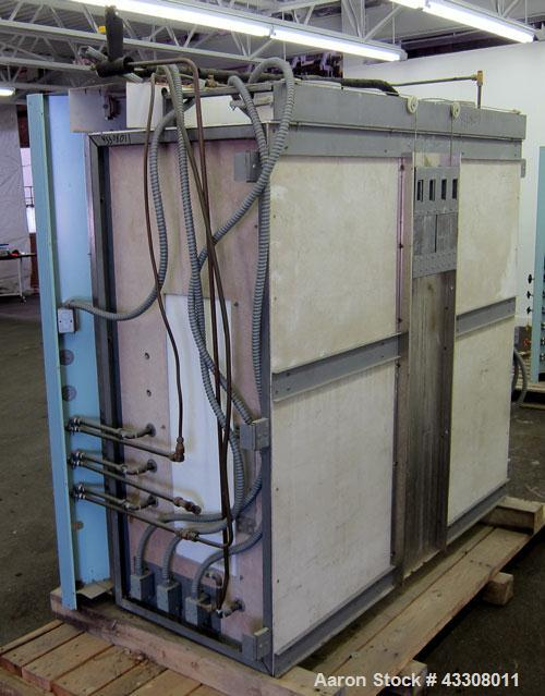 """Used- St Charles Manufacturing Laboratory Fume Hood. Internal dimensions approximate 62-1/2"""" wide x 23-1/4"""" deep. Sliding fr..."""