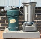 USED- Eberbach Single Speed XP Lab Blender, 4 Liter, Model 8017. 301 Stainless Steel, mixing container. Driven by a 1 1/2 HP...