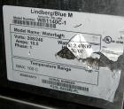 USED: Lindberg/Blue M circulating water bath, model MW-1140C-1, stainless steel. Trough measures 18
