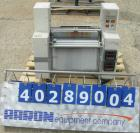 Used- Western Magnum laminator/photoresist, model XRL-120A. Laminator speed 0-12 feet per minute, panel size width 12