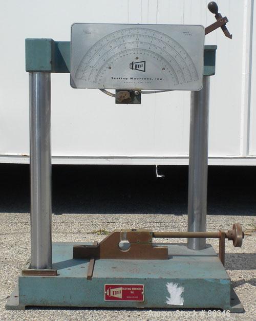USED- TMI Pendulum Impact Tester. Approximately 11' per second. Requires pendulum arm.
