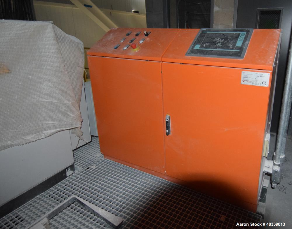 Used- Tomra Commodas Ultrasort Pro Secondary XRT C-1200 Sorter. Capable of sorting 20 - 120mm material after primary crushin...