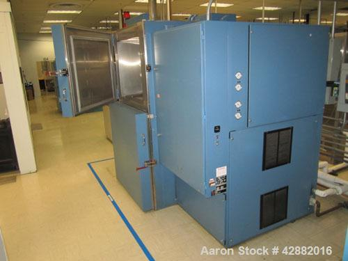 Used-Russells Technical Products Environmental (Thermal Shock) Chamber, Model TSV-3-10-1, A/C. Heat rejected kW = 2.6, 3/60/...