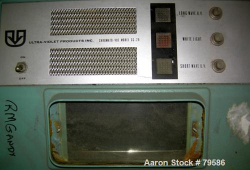 USED- Ultra-Violet Products Chromato-Vue, Model CC20, UV Light Box. Rated .158 Amps.