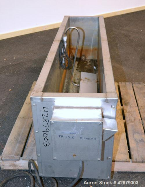 "Used- Arsco Ultrasonics Cleaner, Model Brute 7000, 304 Stainless Steel. Housing measures 13-3/4"" wide x 72"" long x 20-3/4"" d..."