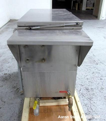 Used- Ultrasonics International PC Series Ultrasonic Parts Cleaner. Tank model #PC 2400 L, stainless steel. Approximately 40...