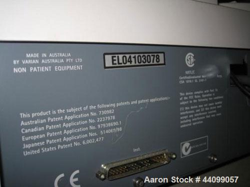 Used- Varian UV Spectrometer, Model Cary 50