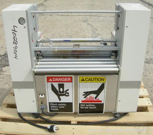 "Used- Western Magnum laminator/photoresist, model XRL-120A. Laminator speed 0-12 feet per minute, panel size width 12"" max. ..."