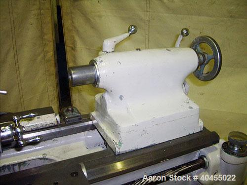 "Used- Monarch 12 1/2"" x 30"" Precision Toolmaker's engine lathe, model 10EE. Swing over bed 12 1/2"", swing over cross slide 7..."