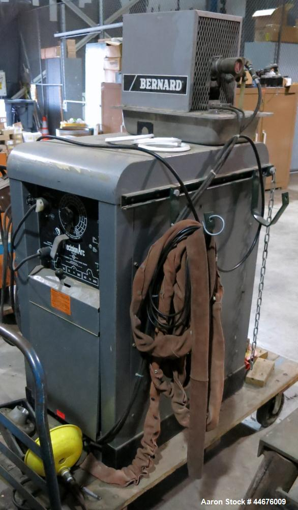 Used-Bernard PrecisionArc Welder, Model # 250A (S), Serial # JE827632