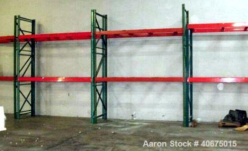 Used-Warehouse racking, (11)  9' sections