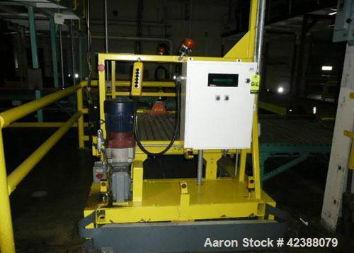 Used-ACS Automated Pallet Retrieval System With 3-Hp & 3/4-Hp Motors 108864