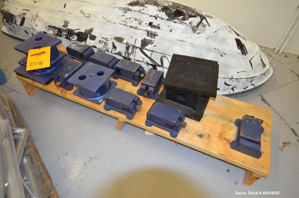 Used-(1) Lot of leveling feet for granite tables.