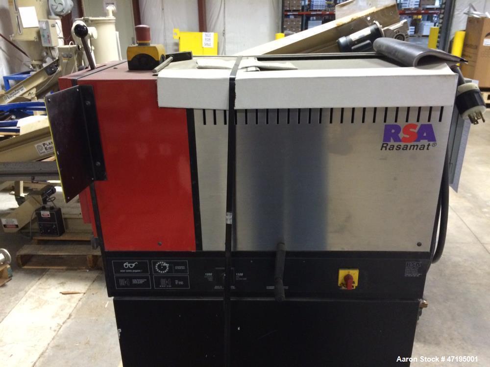 Used- RSA Rasamat 2002 Deburring Machine. Input power kW - 1.5 / 2.4, speed rpm - 1000 + 1500. Materials - steel, stainless ...